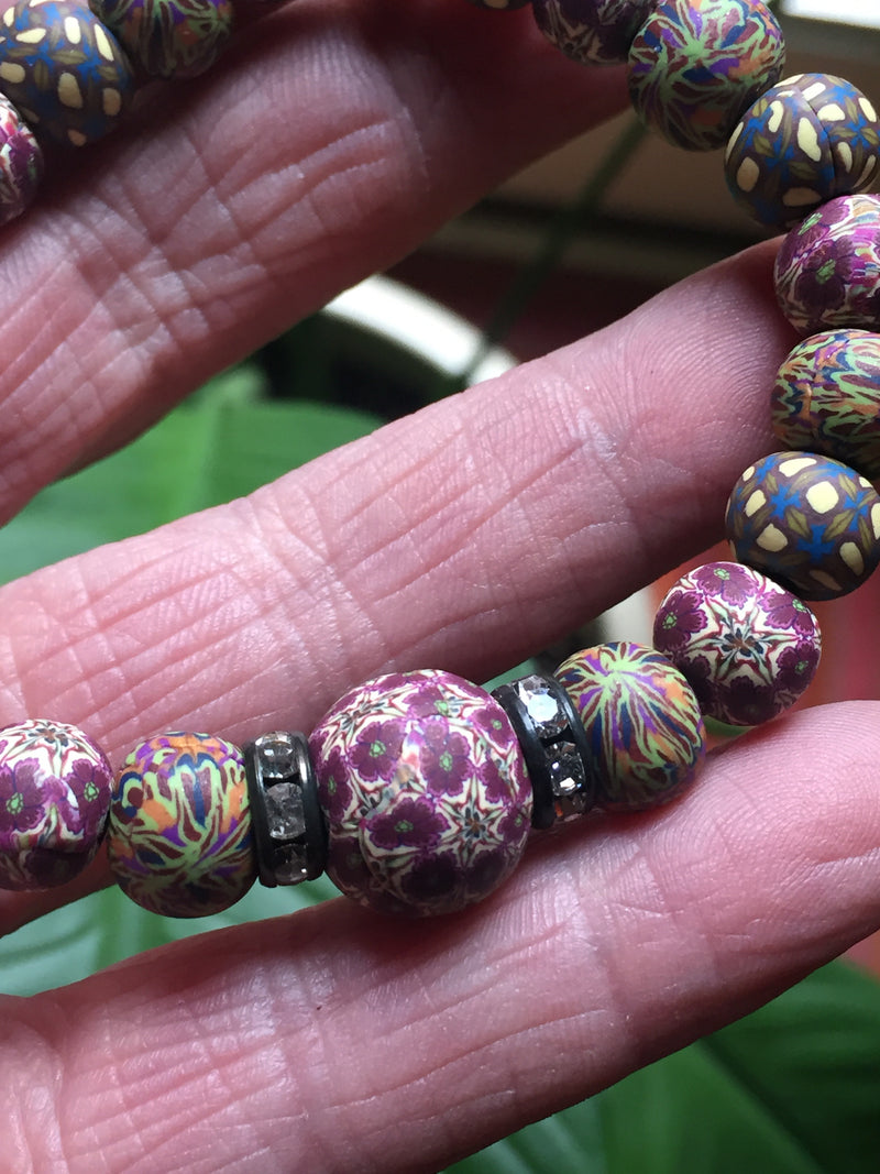 Intention Bracelet: To make clear to friends an emotional connection. - Intention Beads | Astrology | Talisman