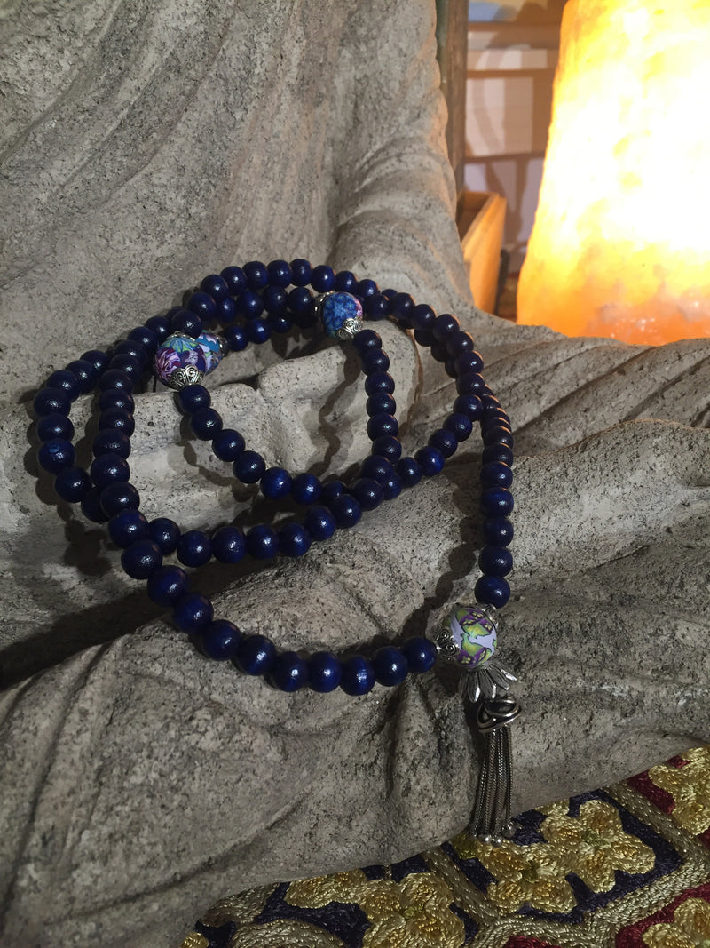 Mala Prayer Beads: To meet others that help me grow. - Intention Beads | Astrology | Talisman