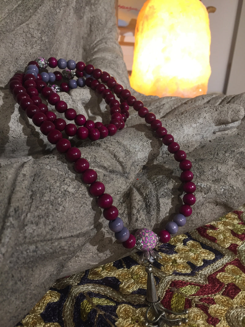 Mala Prayer Beads: To easily grow contracts within business. - Intention Beads | Astrology | Talisman