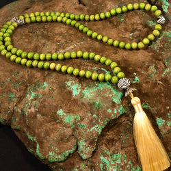 Mala Prayer Beads: To be clear about life. - Intention Beads | Astrology | Talisman