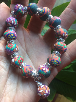 Intention Bracelet: To produce genius-quality thinking. - Intention Beads | Astrology | Talisman