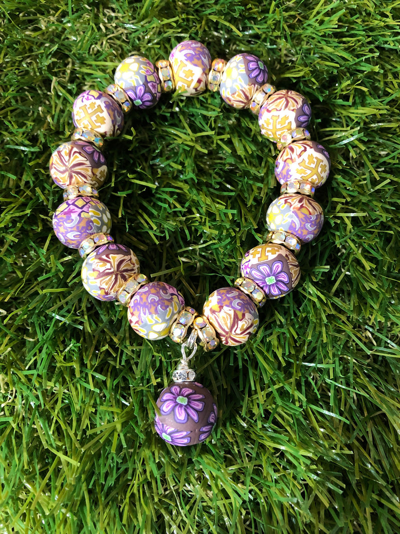 Intention Bracelet: To integrate on a deep intuitive level. - Intention Beads | Astrology | Talisman