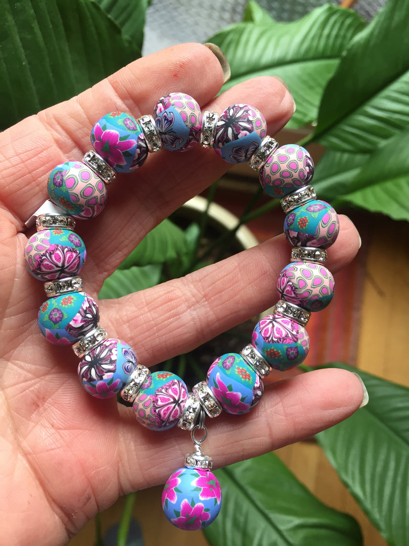 Intention Bracelet: To be on direct course to my dream vision - Intention Beads | Astrology | Talisman