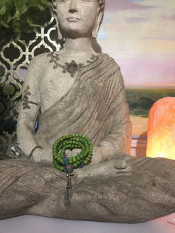 Mala Prayer Beads: For financial stability - Intention Beads | Astrology | Talisman