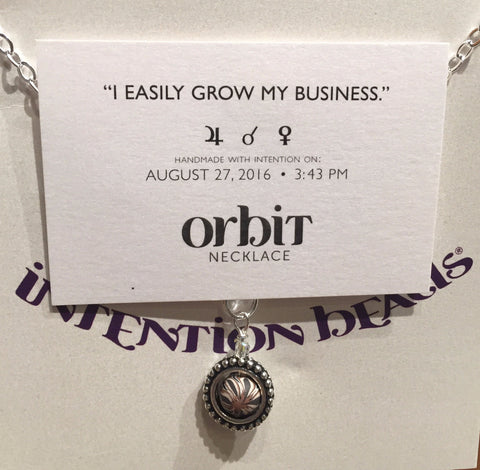 "Orbit Necklace: ""I easily grow my business."""