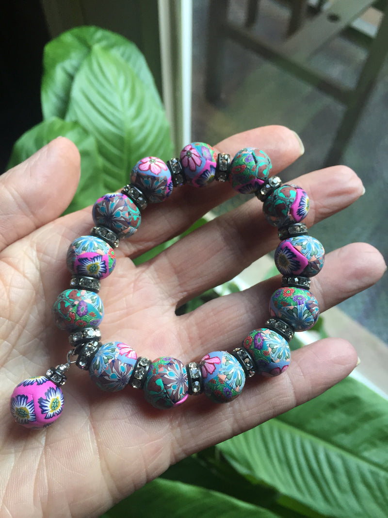 Intention Bracelet: To relate to others for the good of community. - Intention Beads | Astrology | Talisman