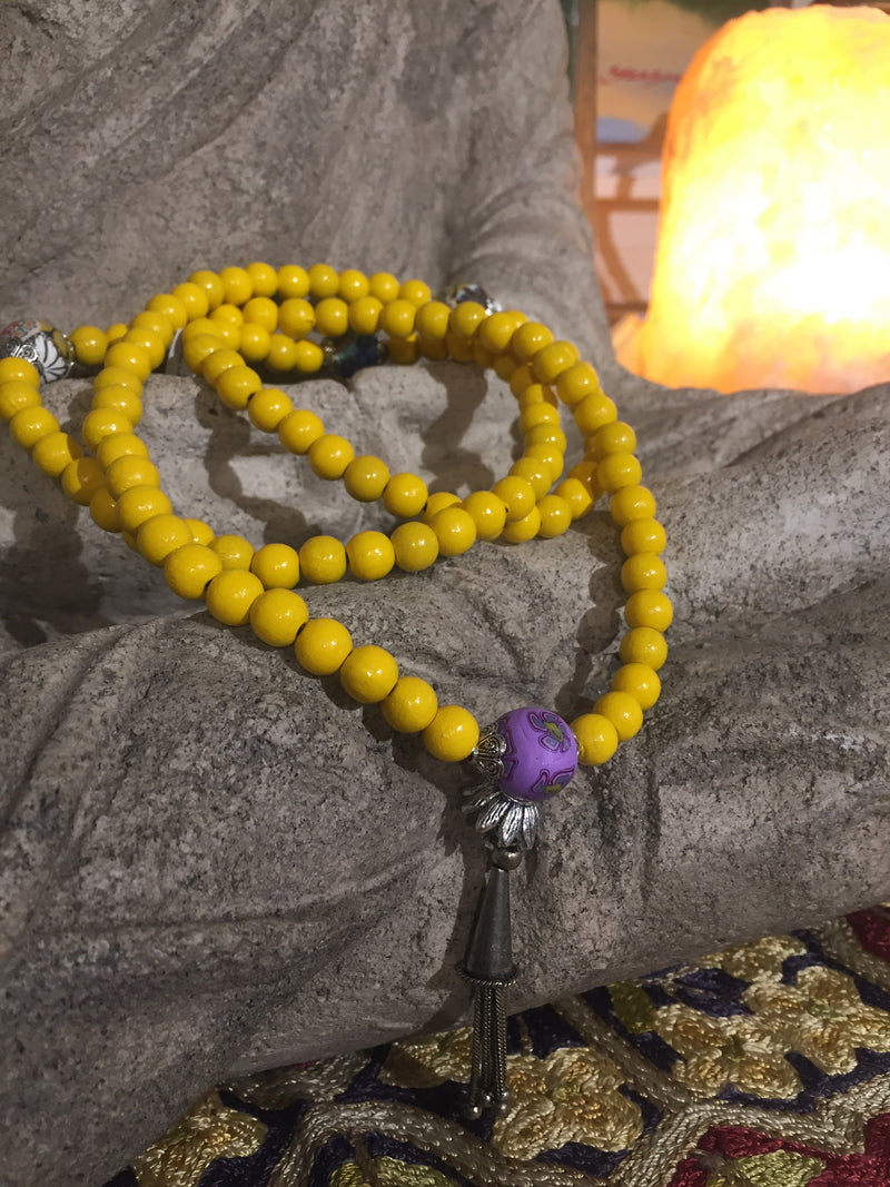 Mala Prayer Beads: To display dynamic energy. - Intention Beads | Astrology | Talisman