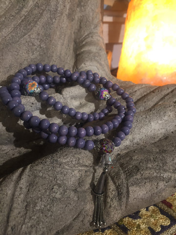 Mala Prayer Beads: To display positivity and to see the big picture.