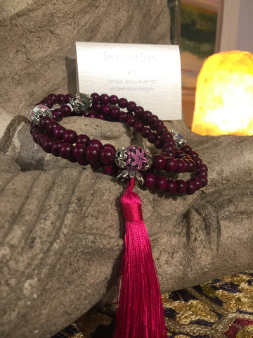 Mala Prayer Beads: To heal illness & attract all favorable energies