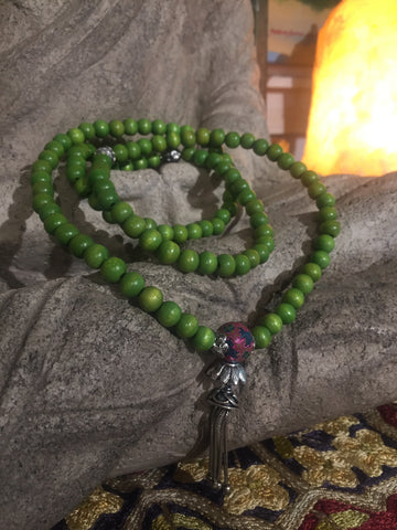 Mala Prayer Beads: For discipline.