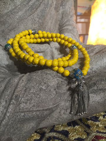 Mala Prayer Beads: For financial stability.