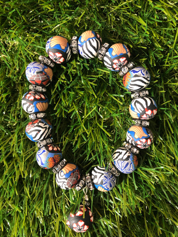 Intention Bracelet: To re-connect with ones emotions to express properly.