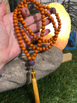 Mala Prayer Beads: For artistic intensity and creativity with words. - Intention Beads | Astrology | Talisman