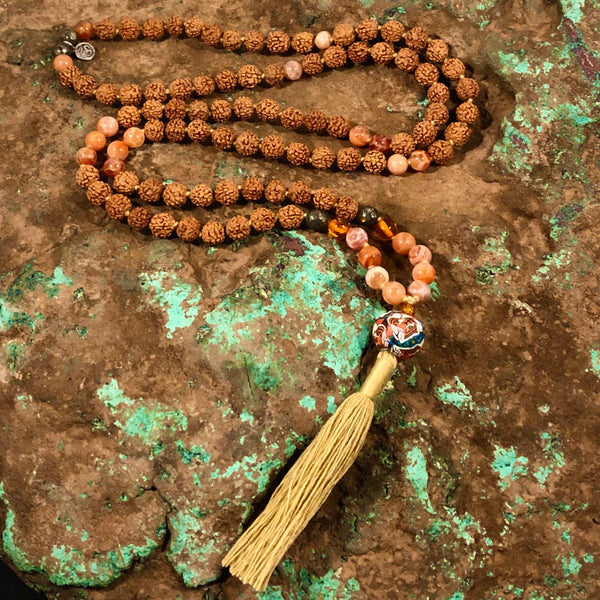 Leo Celestial Mala - Intention Beads | Astrology | Talisman