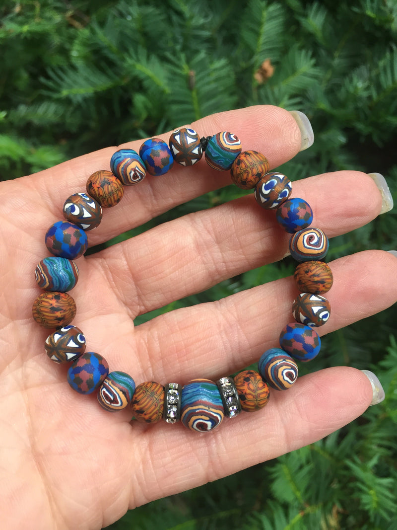 Intention Bracelet: To improve spirits. - Intention Beads | Astrology | Talisman