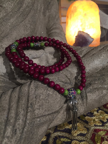 Mala Prayer Beads: To enjoy the good of every day.