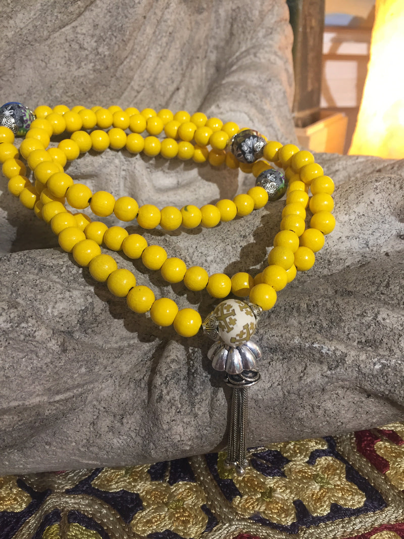 Mala Prayer Beads: To clear away barriers. - Intention Beads | Astrology | Talisman