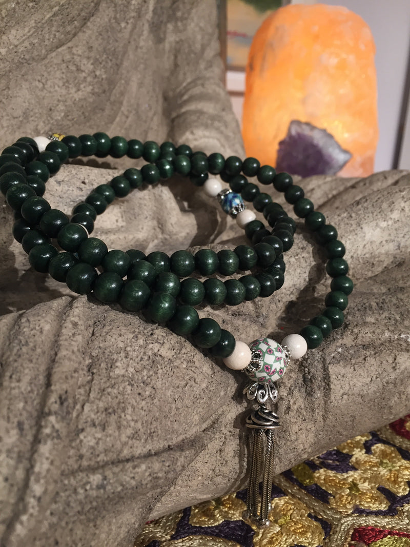 Mala: To meet others that help me grow. - Intention Beads | Astrology | Talisman