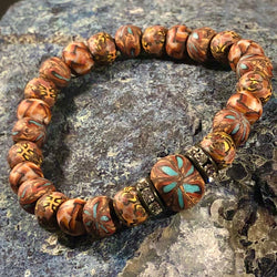 To be persistent and content. - Intention Beads | Astrology | Talisman