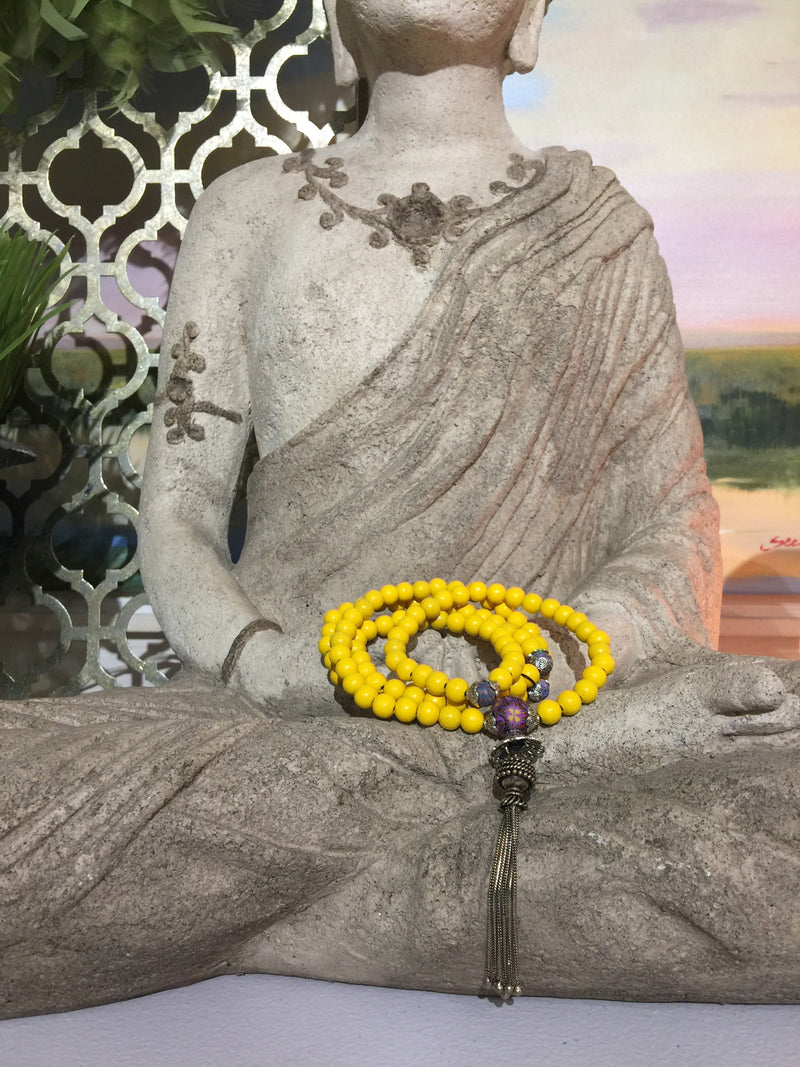 Mala Prayer Beads: To help all affairs work out well - Intention Beads | Astrology | Talisman