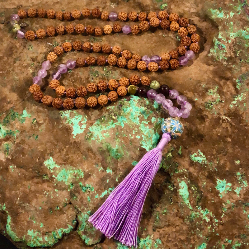 Aquarius Celestial Mala - Intention Beads | Astrology | Talisman