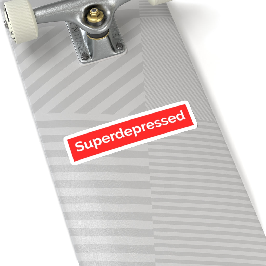 Super Depressed Sticker