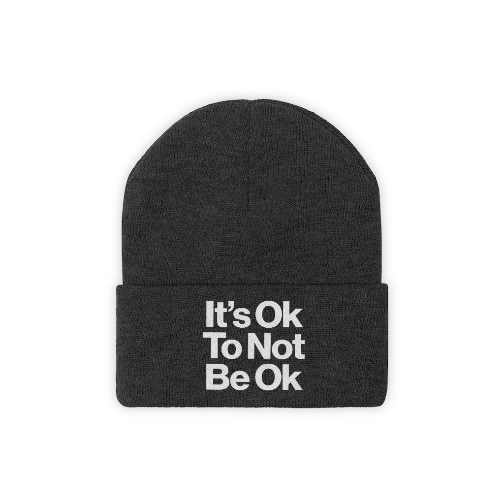 It's OK Knit Beanie