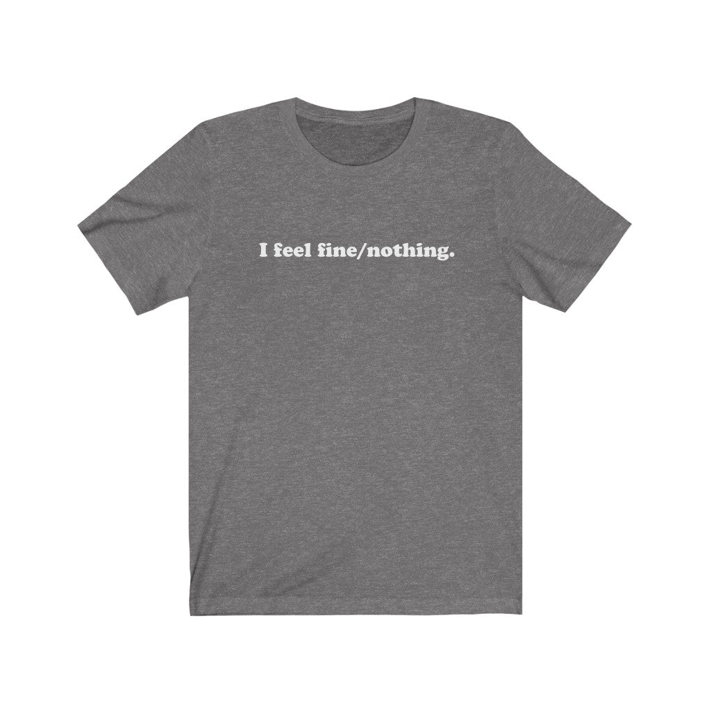 Men's fine/nothing Cotton Tee