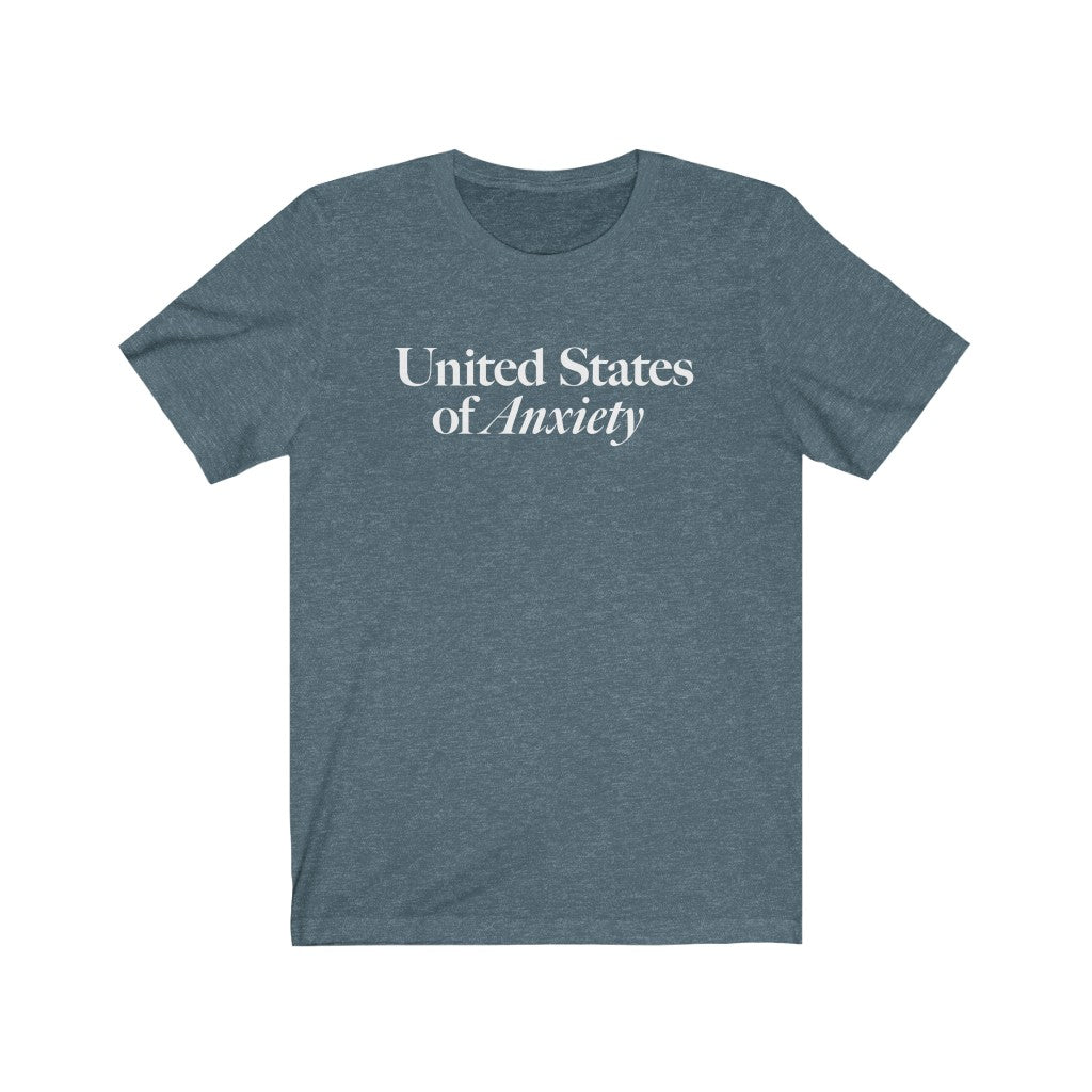 U.S.Anxiety Cotton Tee