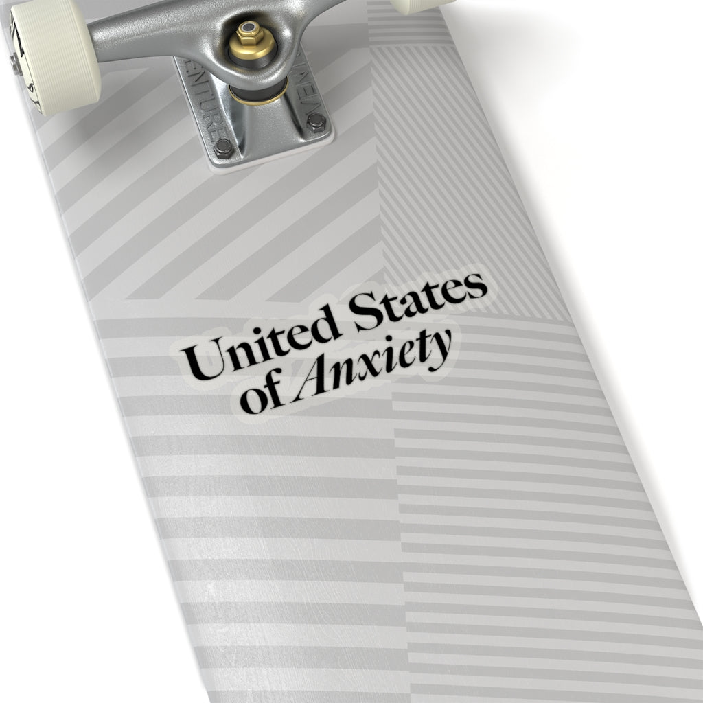 U.S.Anxiety Sticker