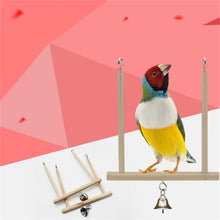 Load image into Gallery viewer, Parrot Toys Birds Stand Birds Swing Cage Accesories Bird Standing Training Toys Supplies Birdcage Accessories Pet Products