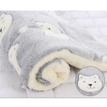 Load image into Gallery viewer, Pet Blanket Dog Bed Cat Mat Soft Coral Fleece Winter Thicken Warm  Sleeping Beds for Small Medium Dogs Cats Pet Supplies