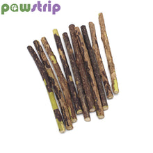 Load image into Gallery viewer, pawstrip 10pcs/lots Matatabi Pet Cat Toy Catnip Sticks Cleaning Tooth Pet Toy For Cats Actinidia Silvervine jouet chat
