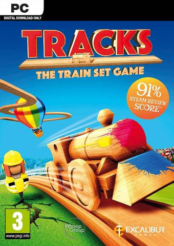Tracks - The Family Friendly Open World Train Set Game Clé CD