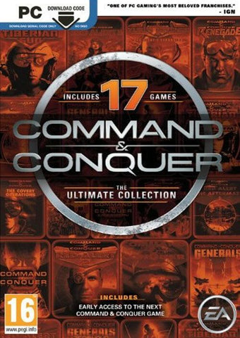 COMMAND AND CONQUER: THE ULTIMATE EDITION CLÉ CD