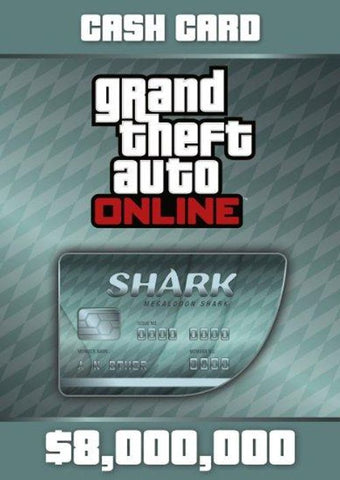 GTA 5 : Megalodon Shark Cash Card