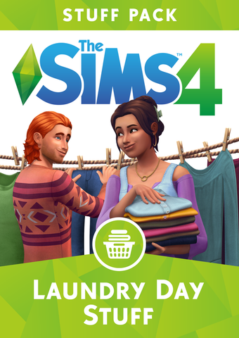 The Sims 4 - Laundry Day Stuff
