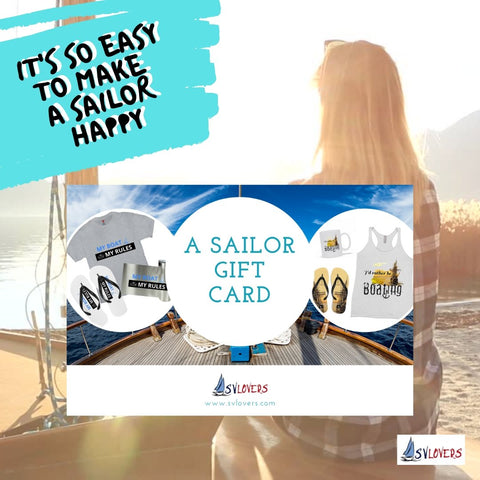 A Sailor Gift Card - SVlovers