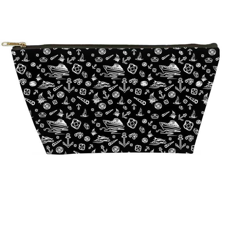 Accessory Pouch - Black Sailing World Collection - SVlovers