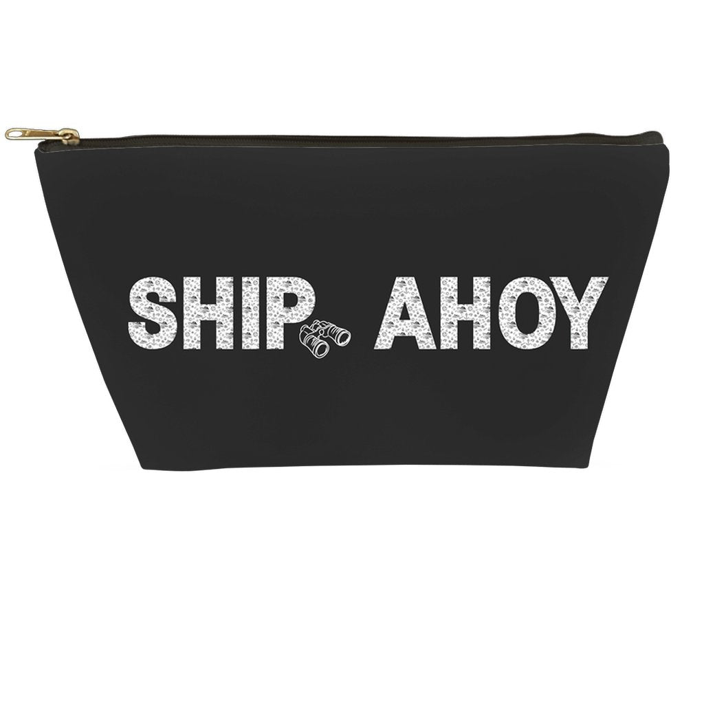 Accessory Pouch - Ship Ahoy! Collection (Black) - SVlovers