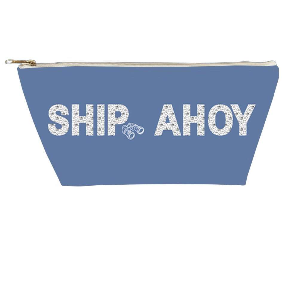 Accessory Pouch - Ship Ahoy! Collection (Blue)