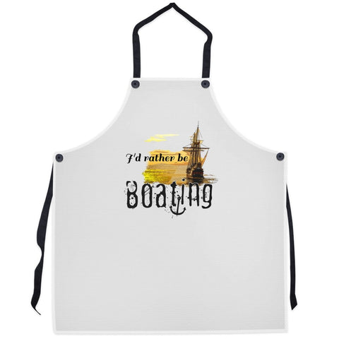 Apron - I'd rather be boating Collection - SVlovers