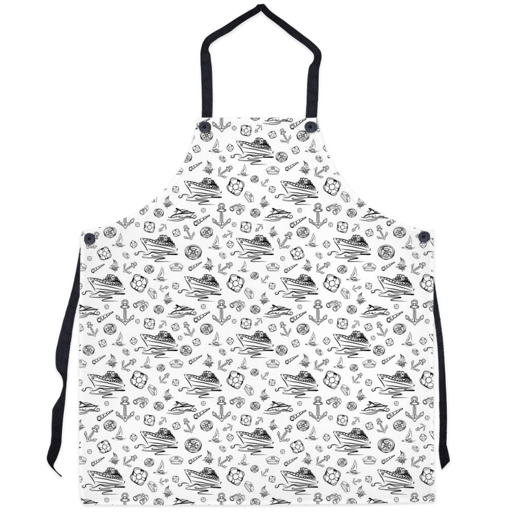 Apron - White Sailing World Collection - SVlovers