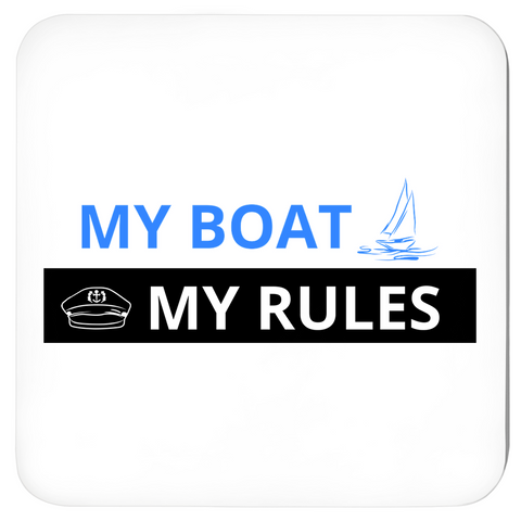 Coasters - My Boat-My Rules Collection