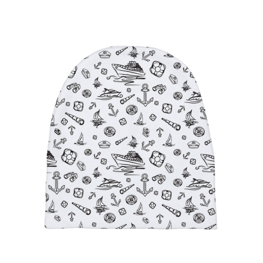 Baby Sailor's Beanie - White Sailing World Collection - SVlovers