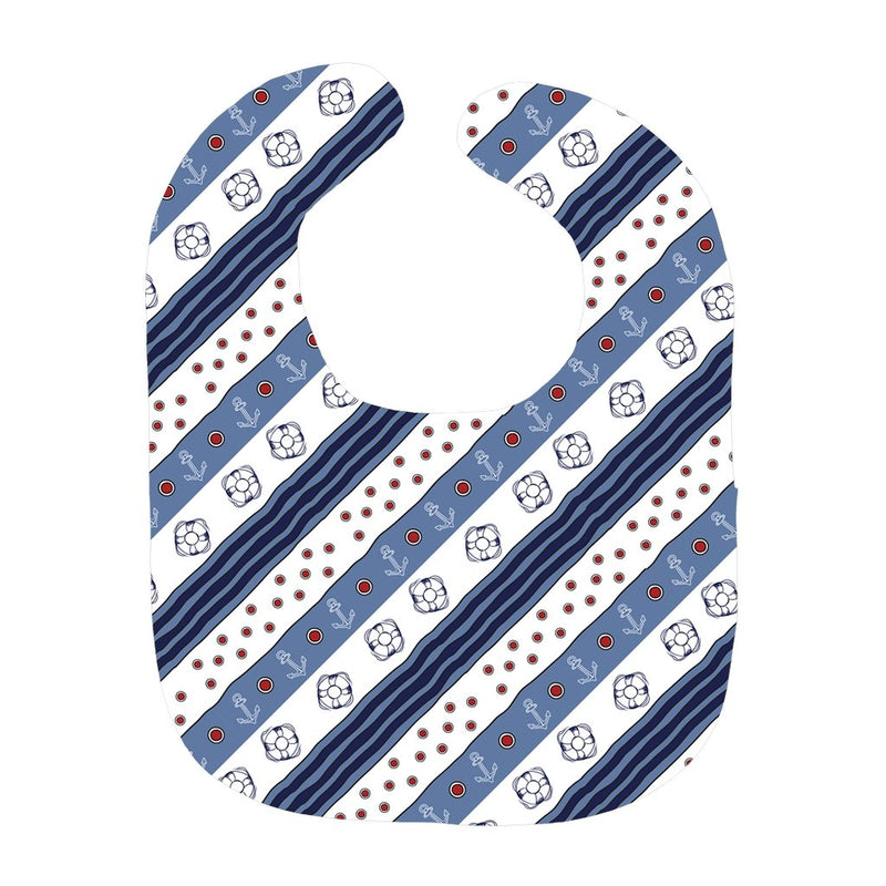 Baby Sailor's Bib - Blue-White Flag Collection - SVlovers