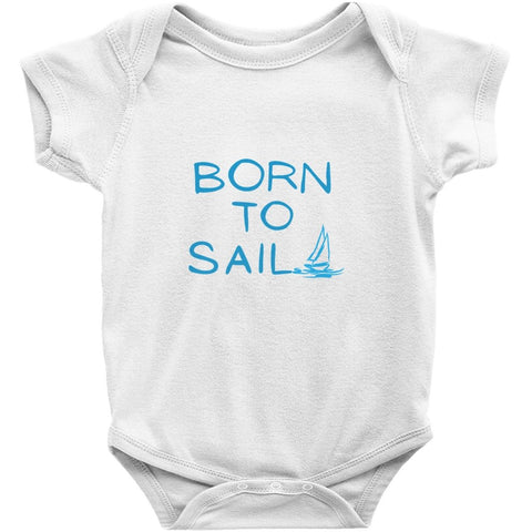 Baby Sailor's bodysuit - Born to sail Collection - SVlovers