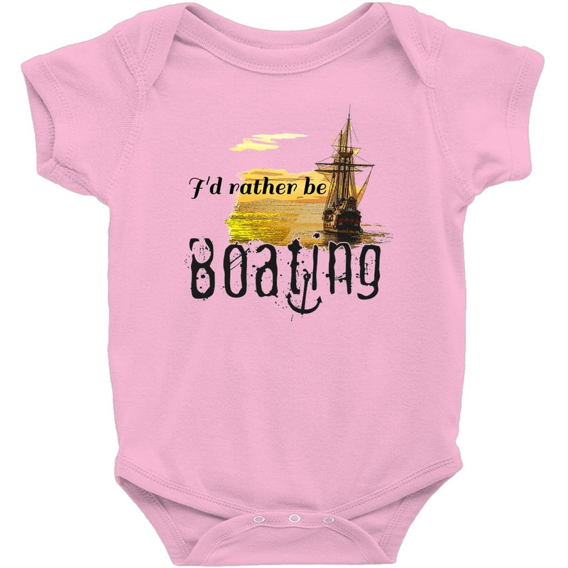 Baby Sailor's bodysuit - I'd rather be boating Collection - SVlovers