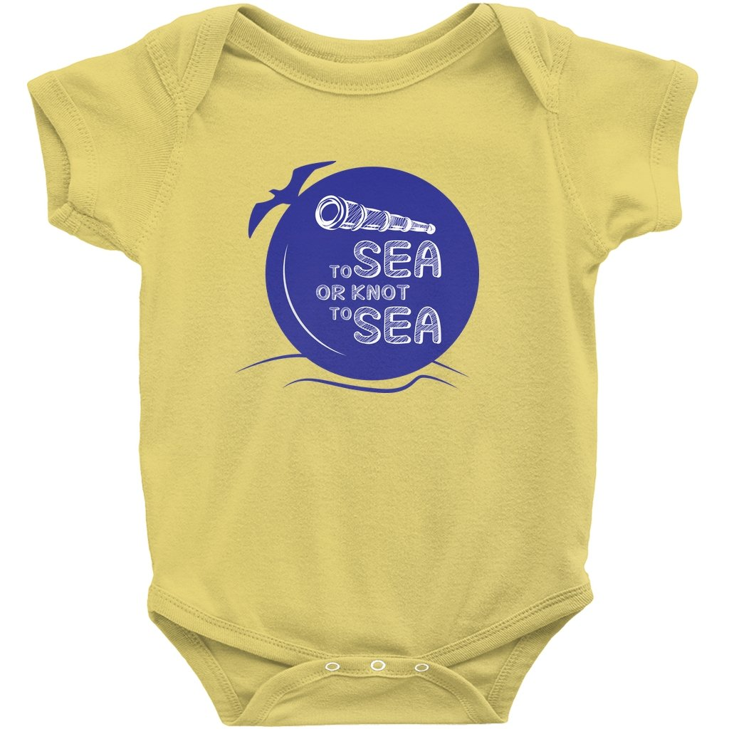 Baby Sailor's bodysuit - To sea or knot to sea Collection - SVlovers