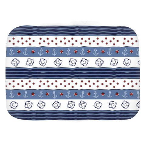 Bath Mat - Blue-White Flag Collection - SVlovers